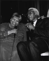 Myra Taylor and Buck O'Neil at the Blue Room