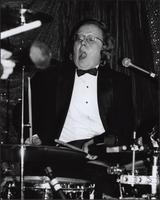 Jürgen Welge gapes at his playing at the Hurricane