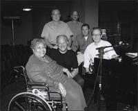 Myra Taylor, Tim Whitmer, Kim Park, Carl Bender, James Albright and Jürgen Welge at Unity Temple on the Plaza