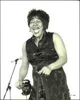 Peggy Scott Adams at the Kansas City Blues & Jazz Fest