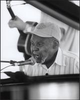 Henry Townsend at the 2000 Kansas City Blues & Jazz Fest