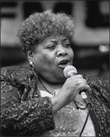 Myra Taylor at the Kansas City Kansas Street Blues Festival 2000 at the Kansas City Kansas Street Blues Festival 2000