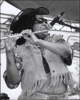 Brenda Walker at the Kansas City Kansas Street Blues Festival 2002