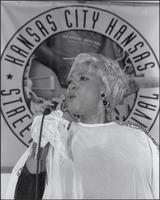 Marva Whitney at the Kansas City Kansas Street Blues Festival 2003