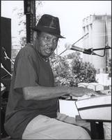 Dennis Binder at the Kansas City Kansas Street Blues Festival 2006