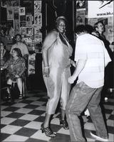 Mary Moore dancing at the Grand Emporium