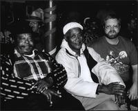 "Frank ""Iron Jaw"" Oakley, L.C. Gant, and Dawayne Gilley at the Grand Emporium"