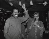 Bobby Rush and Marvine McKeithen at the Club Paradox