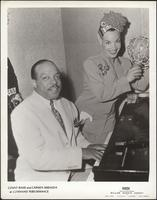 Count Basie and Carmen Miranda at Command Performance