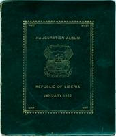 Inauguration Album, Republic of Liberia, January 1952 - Cover