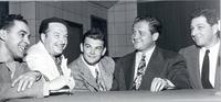 "Xavier Cugat, Dave Dexter, and Al Jarvis on ""Can You Tie That"""