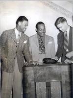 Earl Hines, Count Basie, and Dave Dexter
