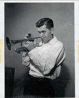 Pete Daily playing cornet