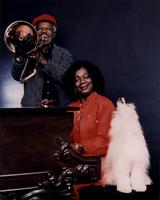 Jeannie, Jimmy, and a dog