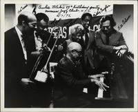 Watching Eubie Blake play piano on his 89th birthday