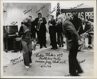 Eubie Blake dancing with Maxine Sullivan on his birthday