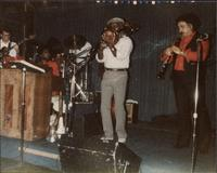 Jeannie and Jimmy Cheatham with other musicians