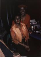 Jimmy and Jeannie Cheatham at the bar