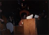 Jeannie Cheatham playing piano