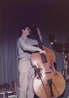 Unidentified double bassist