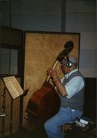 Red Callender playing double bass