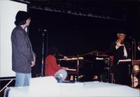 Jimmy and Jeannie Cheatham on stage in Japan