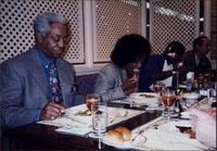 Jimmy and Jeannie Cheatham with Rickey Woodard