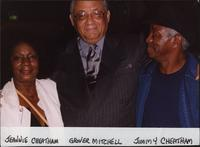 Jeannie and Jimmy Cheatham with Glover Mitchell