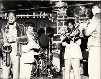 Dinky Morris with Jimmy Cheatham and others