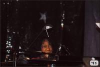 Jeannie Cheatham at the piano