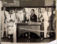 Ahmad Alaadeen with the Pete Diggs band