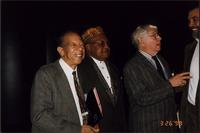 Sonny Kenner, Ahmad Alaadeen, Dooley Weilert and Leonard Brown during the Charlie Parker Symposium