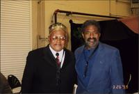 Ahmad Alaadeen and Charles McPherson during the Charlie Parker Symposium