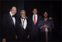 "Orestie ""Rusty"" Tucker, Ahmad Alaadeen, Emanuel Cleaver, and Ricky Anderson during the Coda Jazz Fund Benefit Concert"