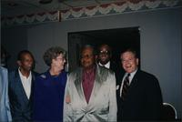 David Daahoud Williams, Sonny Kenner, State Representative Cooper, Ahmad Alaadeen, Adolph Roulette, and Mayor Berkley