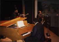 Gary Sykes, Steve Kirby, Will Matthews, Reggie Thomas, and Ahmad Alaadeen perform in Malden, Missouri