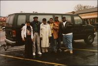 Akers Aitch, Tyrone Clark, Ahmad Alaadeen, Danny Campbell, Will Matthews, and Donivan Bailey in Arkansas