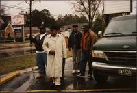 Donivan Bailey, Ahmad Alaadeen, Danny Campbell, Tyrone Clark, and Will Matthews in Magnolia, Arkansas