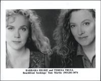 Barbara Higbie and Teresa Trull