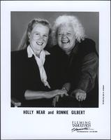 Holly Near and Ronnie Gilbert laughing