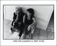 Cris Williamson seated with Tret Fure