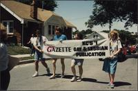 Kansas City Gāzette's banner