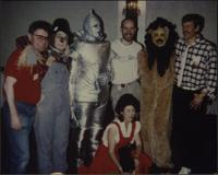 Bill Todd with Wizard of Oz characters