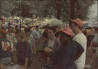 Crowd at the GALA '91 Picnic