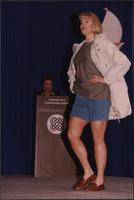 Shorts and a jacket at the Boat Show Fashion Show