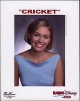 """Cricket"" publicity photograph for Disney Radio"