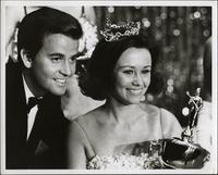 Patricia Stevens with Dick Clark
