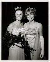 Patricia Stevens with the former Miss Teenage Kansas City