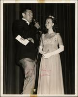 Patricia Stevens with Johnny Dolan