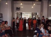 Camp graduation fashion show line up